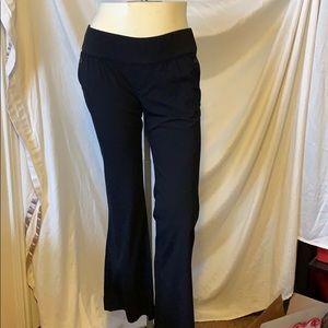 Black Gap maternity dress slacks